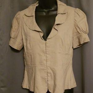 Bananna Republic cropped jacket size 8